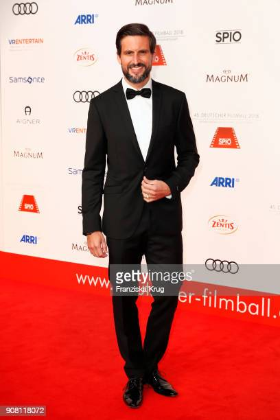 Tom Beck attends the German Film Ball 2018 at Hotel Bayerischer Hof on January 20 2018 in Munich Germany