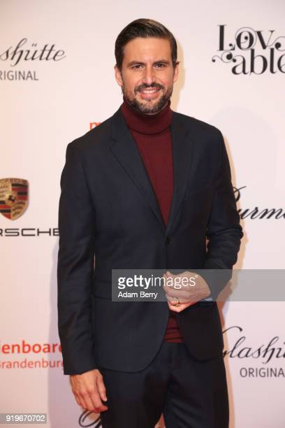 Tom Beck attends the Medienboard BerlinBrandenburg Arrivals during the 68th Berlinale International Film Festival Berlin at on February 17 2018 in...