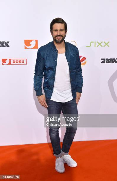 Tom Beck attends the program presentation of the television channel ProSiebenSat1 on July 13 2017 in Hamburg Germany