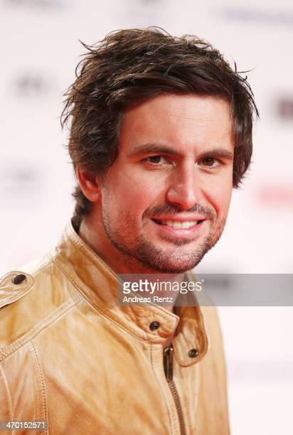 Tom Beck attends the World premiere of Stromberg Der Film at Cinedom Koeln on February 18 2014 in Cologne Germany