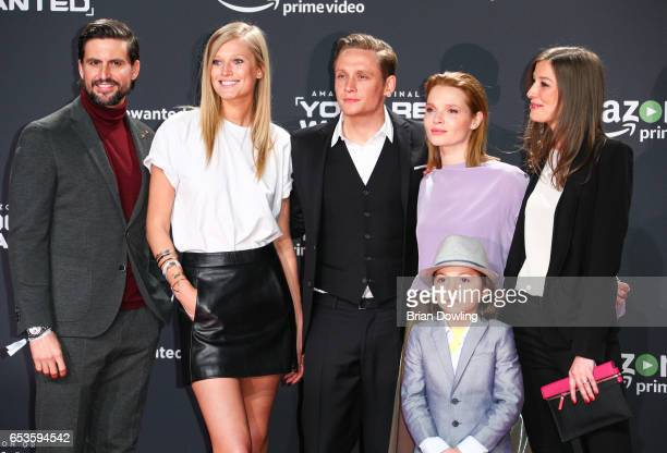 Tom Beck Matthias Schweighoefer Karoline Herfurth Alexandra Maria Lara and Franz Hagn arrives at Amazon Prime Video's premiere of the series 'You are...