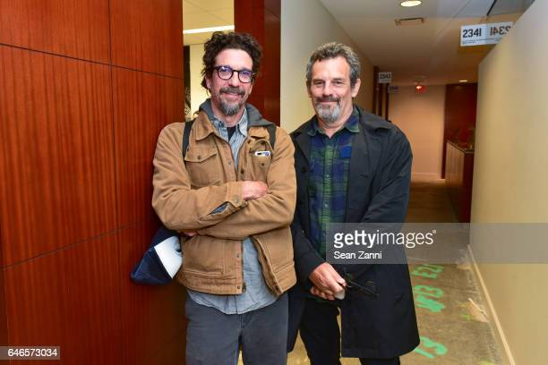 Tom Behrens and Brent Richardson attend Spring Break Art Fair 2017 Vernissage at 4 Times Square on February 28 2017 in New York City