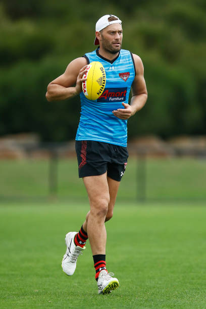 AUS: Essendon Bombers Training Session