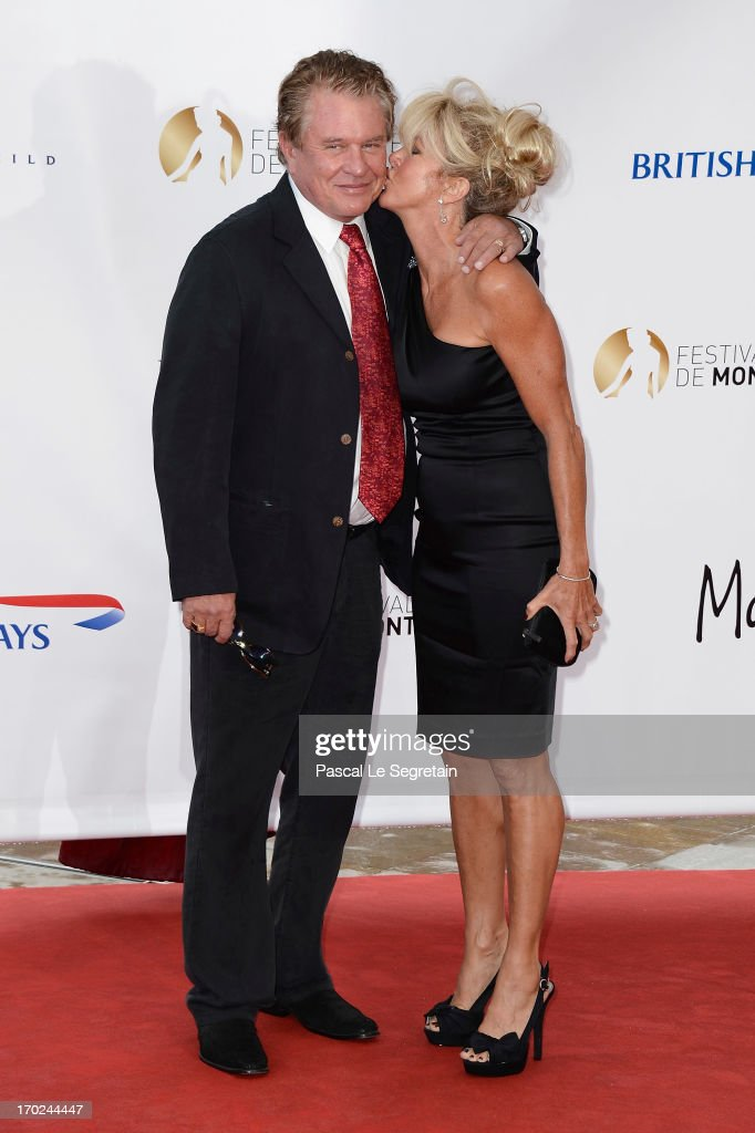 Tom Berenger (L) and his wife attend the opening ceremony of the 53rd Monte Carlo TV Festival on June 9, 2013 in Monte-Carlo, Monaco.