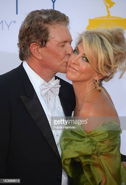 Tom Berenger and Laura Moretti arrive at the 64th Annual Primetime Emmy Awards at Nokia Theatre LA Live on September 23 2012 in Los Angeles California