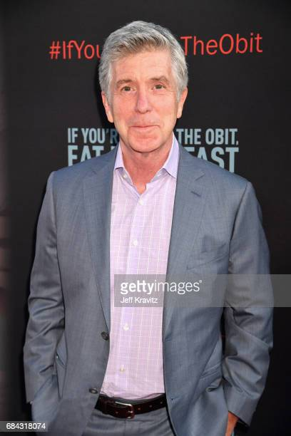 Tom Bergeron at the LA Premiere of If You're Not In The Obit Eat Breakfast from HBO Documentaries on May 17 2017 in Beverly Hills California