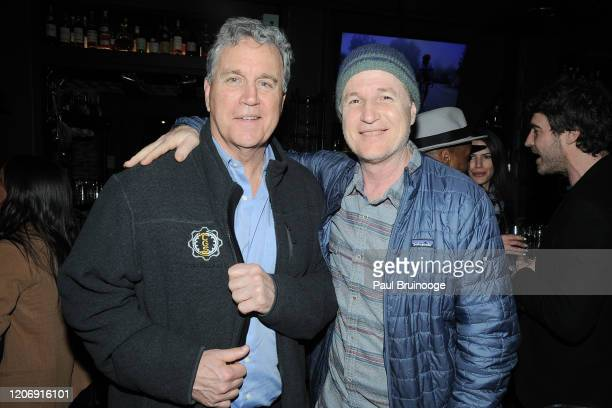 Tom Bernard and Andy Bernard attend Sony Pictures Classics And The Cinema Society Host A Special Screening Of The Climb at iPic Theater on March 12...
