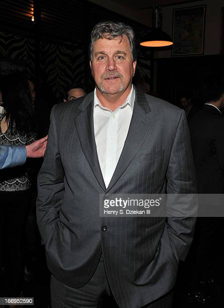 """Tom Bernard attends the after party for the Cinema Society & Bally screening of Sony Pictures Classics' """"At Any Price"""" at Clarkson on April 18, 2013..."""