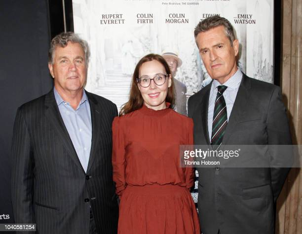 Tom Bernard Jennifer Cochis and Rupert Everett attend 2018 LA Film Festival gala screening of 'The Happy Prince' at Wallis Annenberg Center for the...