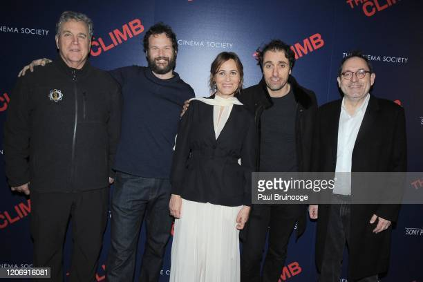 Tom Bernard Kyle Marvin Judith Godreche Michael Angelo Covino and Michael Barker attend Sony Pictures Classics And The Cinema Society Host A Special...