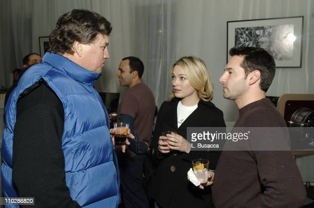 Tom Bernard Sophia Myles and Scott Schachter during 2006 Park City Cadillac Lounge Art School Confidential Party at Cadillac Lounge in Park City Utah...