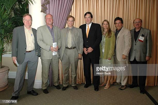 Tom Berry cochairman of Imagination Worldwide Michael Ryan creative director of IAC Film Peter Dekom attorney for...