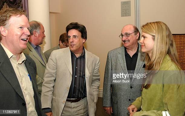 Tom Berry cochairman of Imagination Worldwide Paul Herzberg president of CineTel Pictures Lewis Horwitz president of Horwitz Entertainment Financial...