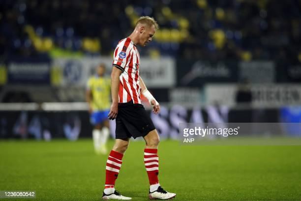 Tom Beugelsdijk of Sparta Rotterdam during the Dutch Eredivisie match between RKC Waalwijk and Sparta Rotterdam at the Mandemakers Stadium on October...