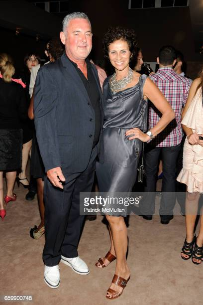 Tom Binn and Christina Viera-Newton attend VIKTOR & ROLF Private Dinner at THE WEBSTER at The Webster on December 4, 2009 in Miami Beach, Florida.