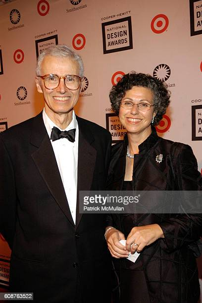 Tom Block and Marilyn Friedman attend Cooper Hewitt Museum's National Design Awards Gala at Cooper Hewitt Museum on October 18, 2007 in New York City.