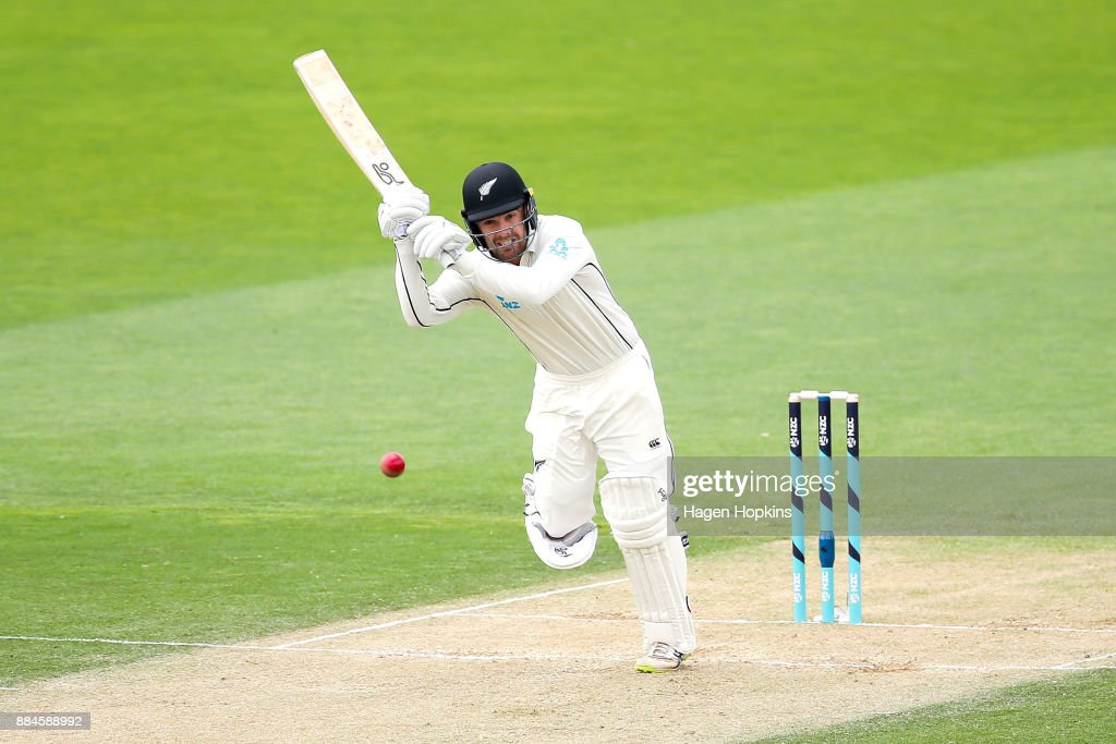 New Zealand v West Indies - 1st Test: Day 3 : News Photo