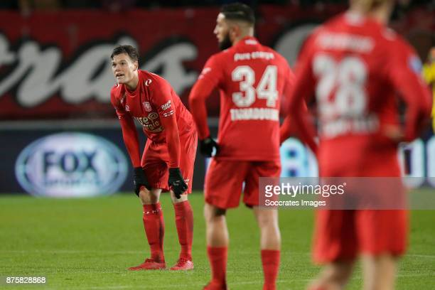 Tom Boere of FC Twente during the Dutch Eredivisie match between Fc Twente v SC Heerenveen at the De Grolsch Veste on November 18, 2017 in Enschede...