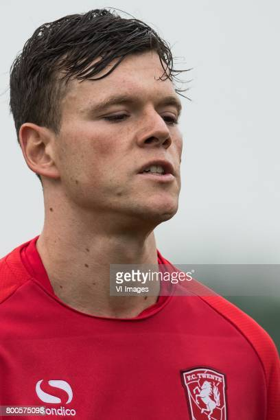 Tom Boere of FC Twenteduring a training session at Trainingscentrum Hengelo on June 24 2017 in Hengelo The Netherlands