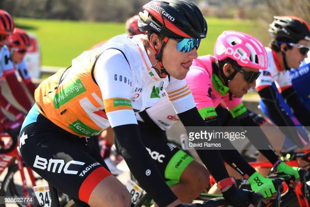 Tom Bohli of Switzerland and Team BMC Racing Team Orange Sprint Jersey / during the 98th Volta Ciclista a Catalunya 2018 Stage 3 a 153km stage from...