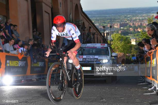 Tom Bohli of Switzerland and UAE Team Emirates / during the 102nd Giro d'Italia 2019 Stage 1 a 8km Individual Time Trial from Bologna to San...