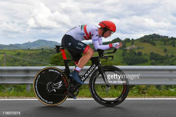 Tom Bohli of Switzerland and UAE Team Emirates / during the 102nd Giro d'Italia 2019 Stage 9 a 348km Individual Time Trial from Riccione to San...