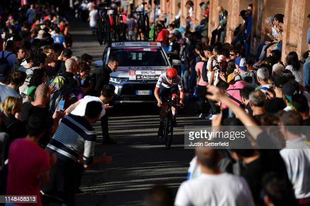 Tom Bohli of Switzerland and UAE Team Emirates / Public / Fans / Landscape / during the 102nd Giro d'Italia 2019 Stage 1 a 8km Individual Time Trial...