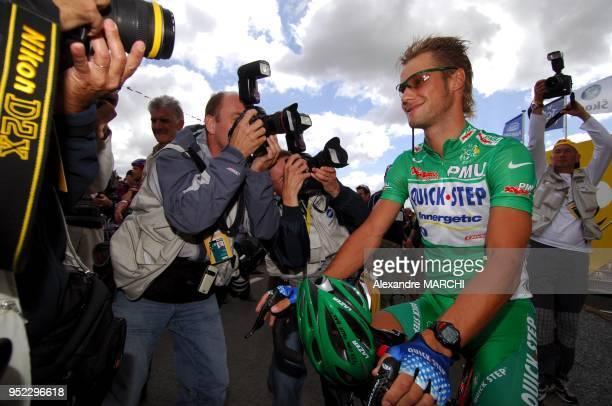 Tom Boonen Green jersey