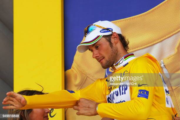 Tom Boonen new yellow jerzey