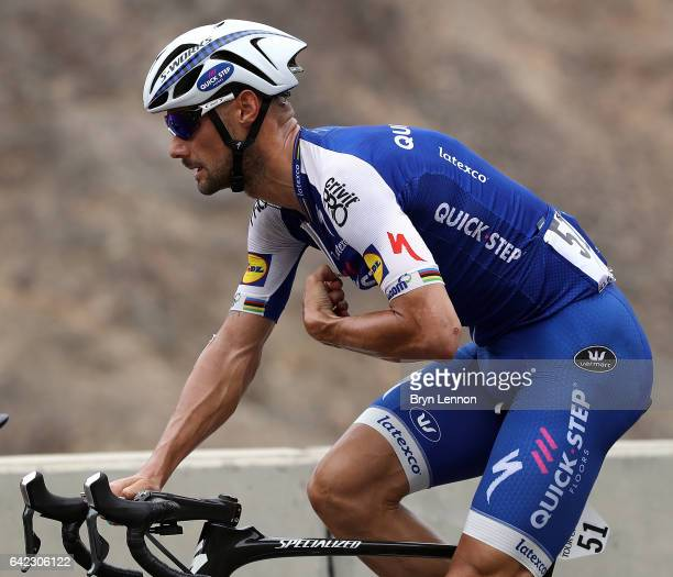 Tom Boonen of Belgium and QuickStep Floors in action during stage four of the 8th Tour of Oman a 118km stage from Yiti to the Ministry of Tourism on...