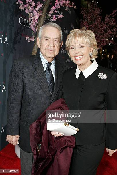 Tom Bosley and Patricia Carr during Los Angeles Premiere of Columbia Pictures' Memoirs of a Geisha at Kodak Theater / The Grand Ballroom...