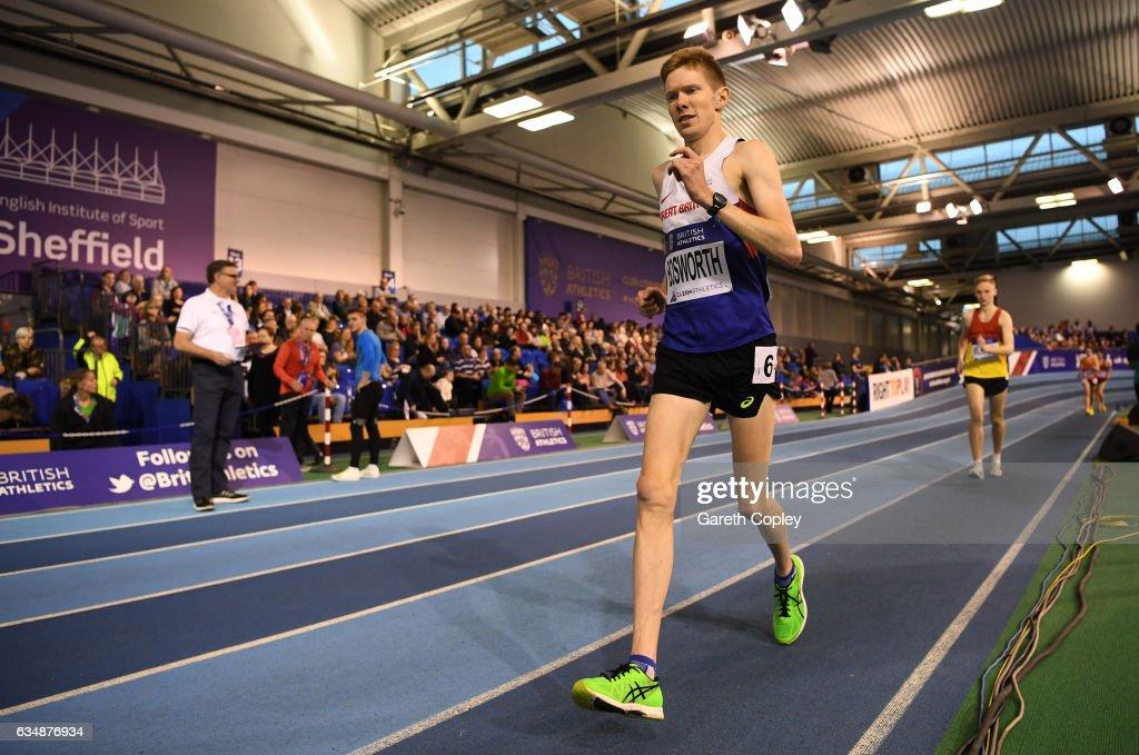 British Athletics Indoor Team Trials 2017 - Day Two : News Photo