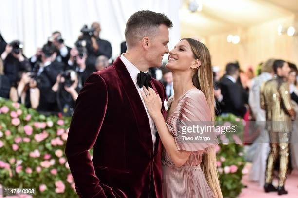 Tom Brady and Gisele Bündchen attend The 2019 Met Gala Celebrating Camp: Notes on Fashion at Metropolitan Museum of Art on May 06, 2019 in New York...