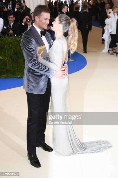 """Tom Brady and Gisele Bundchen attend """"Rei Kawakubo/Comme des Garcons: Art Of The In-Between"""" Costume Institute Gala - Arrivals at Metropolitan Museum..."""