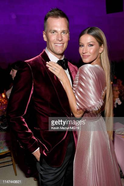 Tom Brady and Gisele Bundchen attend The 2019 Met Gala Celebrating Camp: Notes on Fashion at Metropolitan Museum of Art on May 06, 2019 in New York...