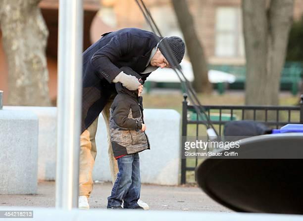 Tom Brady and John Brady are seen on December 07 2013 in Boston Massachusetts