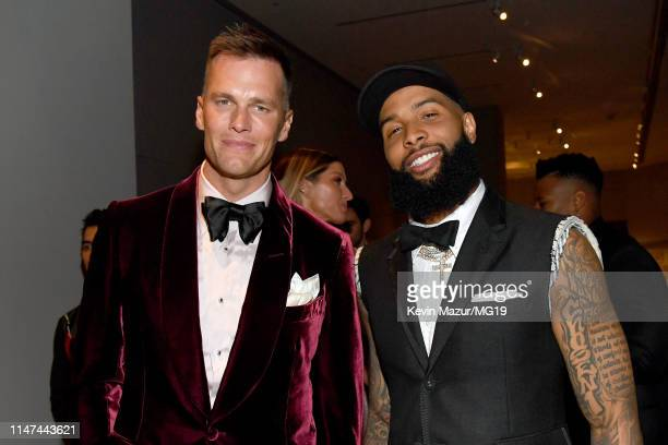 Tom Brady and Odell Beckham Jr attend The 2019 Met Gala Celebrating Camp Notes on Fashion at Metropolitan Museum of Art on May 06 2019 in New York...