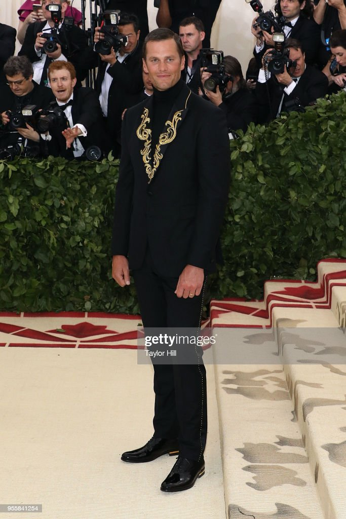 Tom Brady attends 'Heavenly Bodies: Fashion & the Catholic Imagination', the 2018 Costume Institute Benefit at Metropolitan Museum of Art on May 7, 2018 in New York City.