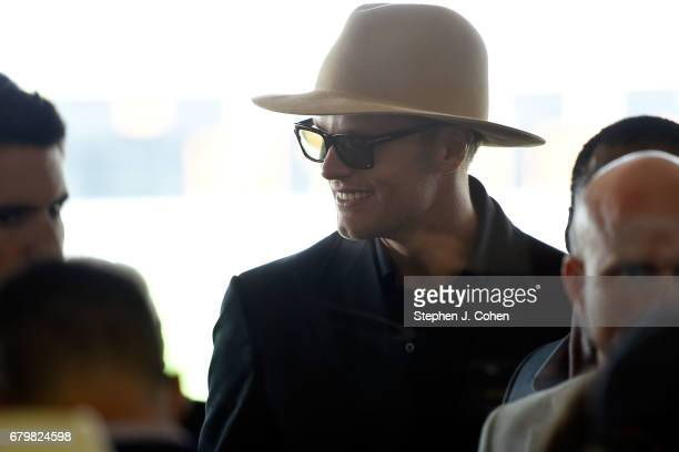 Tom Brady attends the 143rd Kentucky Derby at Churchill Downs on May 6, 2017 in Louisville, Kentucky.