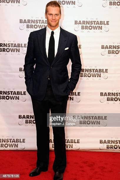 Tom Brady attends the Barnstable Brown Kentucky Derby Eve Gala at Barnstable Brown House on May 2 2014 in Louisville Kentucky