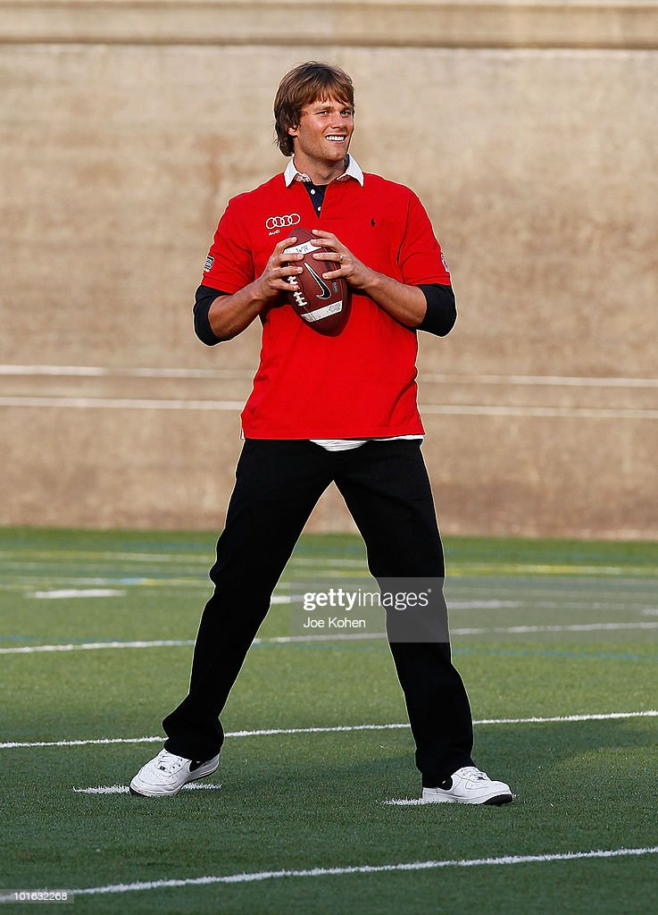 Tom Brady of New England Patriots attends the Tom Brady's Flag football match kicking off the 2010 Audi Best Buddies Challenge: Hyannis Port on June 4, 2010 in Boston, Massachusetts.