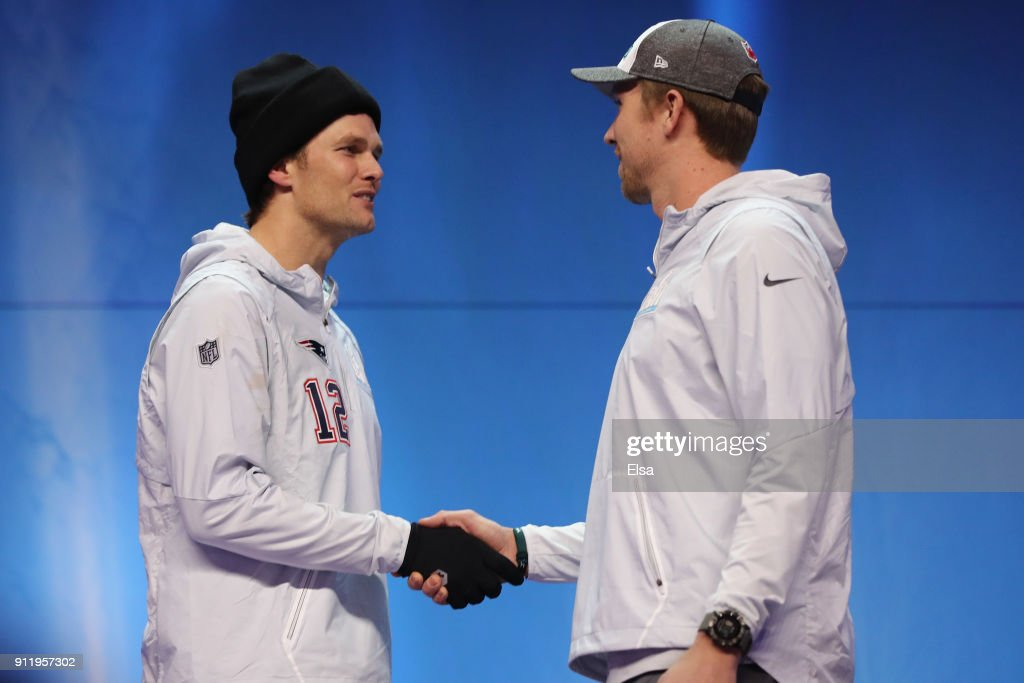 Super Bowl LII Opening Night at Xcel Energy Center : News Photo