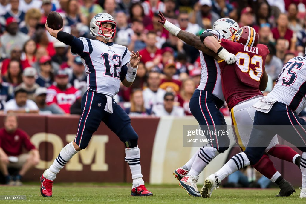 New England Patriots v Washington Redskins : News Photo