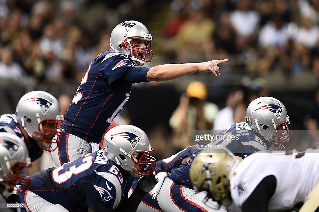 New England Patriots v New Orleans Saints : News Photo