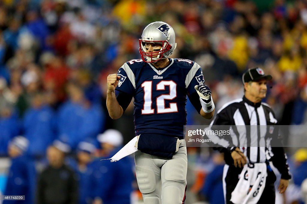 AFC Championship - Indianapolis Colts v New England Patriots : News Photo