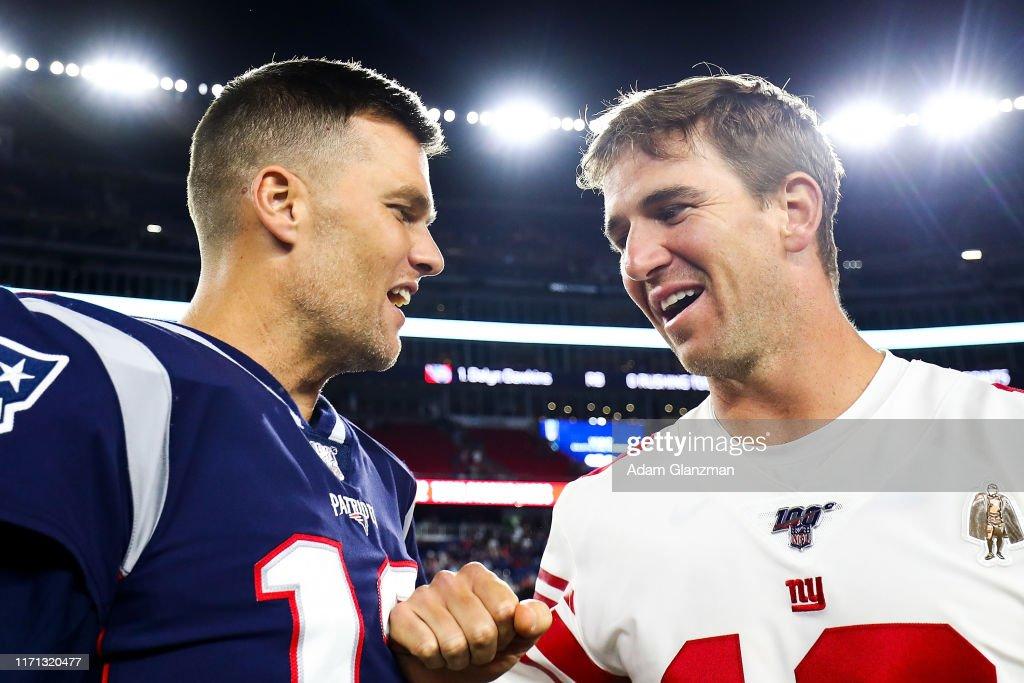 New York Giants v New England Patriots : News Photo