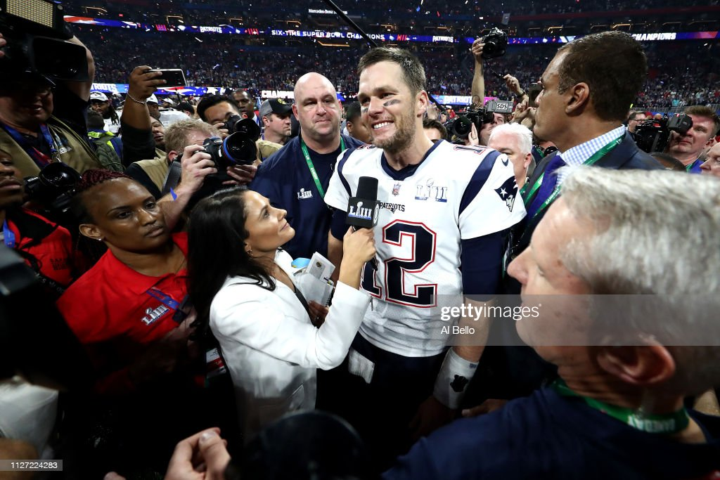 Super Bowl LIII - New England Patriots v Los Angeles Rams : Nyhetsfoto