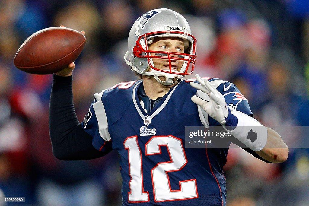 AFC Championship - Baltimore Ravens v New England Patriots : News Photo