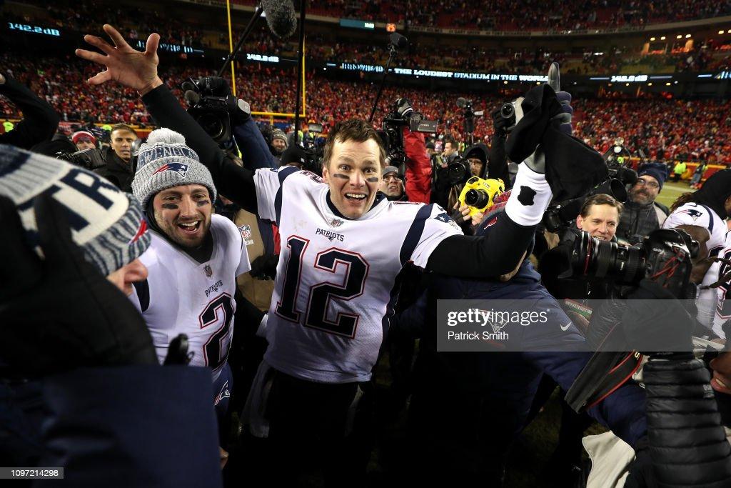 AFC Championship - New England Patriots v Kansas City Chiefs : Nachrichtenfoto
