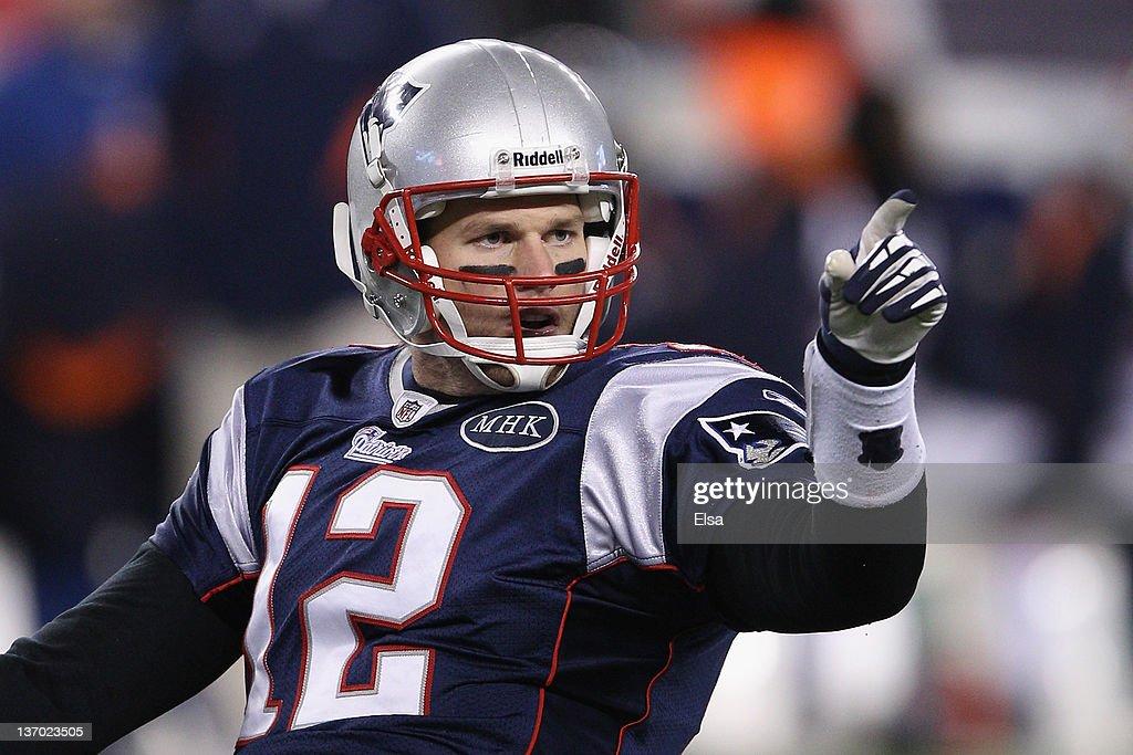 Divisional Playoffs - Denver Broncos v New England Patriots : News Photo